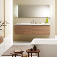 Burgbad Bel Мебель для ванной 161 см, цвет кашемировый дубовый F
