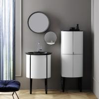 Burgbad Diva 2.0 Мебель для ванной 59 см, белый глянц