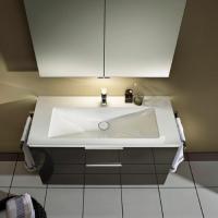 Burgbad Eqio Мебель для ванной 123 см, цвет серый глянц F2010