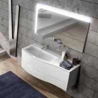 Burgbad Sinea 2.0 Мебель для ванной 121 см, цвет белый гл.