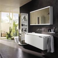 Burgbad Yso Мебель для ванной 130 см, цвет мебели белый матовый