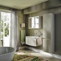 Burgbad Yso Мебель для ванной 90 см, цвет мебели песочный глянец