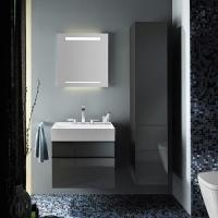 Burgbad Yumo Мебель для ванной 67 см, цвет серый