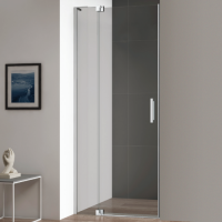 Cezares Slider-B-1-80/90-Grigio-Cr Душевая дверь 80/90 см