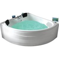 Gemy G9041 O Ванна акриловая гидро-аэромассажная 150x150