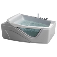 Gemy G9056 B Ванна гидро-аэромассажная  170x130 см