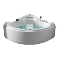 Gemy G9082 O Ванна гидро-аэромассажная 152x152 см
