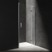 Omnires Manhattan ADP12XLUX-TCRTR Душевая дверь 120 см