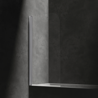 Omnires Mayfair QP93B-LLUXCRTR Шторка для ванны 70 см