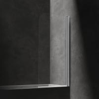 Omnires Mayfair QP93B-PLUXCRTR Шторка для ванны 70 см