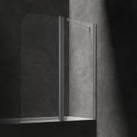 Omnires Mayfair QP95B-PLUXCRTR Шторка для ванны 115 см