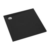Omnires Stone STONE80/KBL Душевой поддон 80x80, черный мат