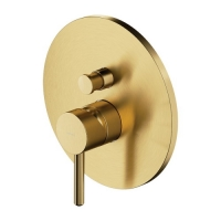 Omnires Y Y1235GLB Смеситель для ванны, брашированное золото