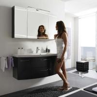 Pelipal Cassca Мебель для ванной 121 см, антрацит в.гл.