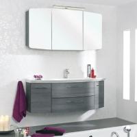 Pelipal Cassca Мебель для ванной 121 см, графит поперечная