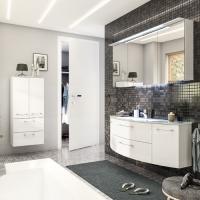 Pelipal Cassca Мебель для ванной 141 см, белый глянец