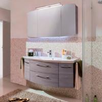 Pelipal Cassca Мебель для ванной 141 см, графит структура