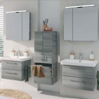 Pelipal Pineo Мебель для ванной 72 см (2 шт.), сангалло сер