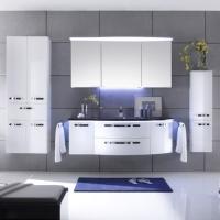 Pelipal Solitaire 7005 Мебель для ванной 152 см, белый глянц