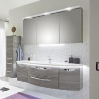 Pelipal Solitaire 7005 Мебель для ванной 152 см, сангалло серый