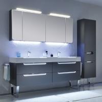 Pelipal Solitaire 7020 Мебель для ванной 171 см, стальной серый