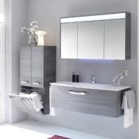 Pelipal Solitaire 7025 Мебель для ванной 122 см, графит