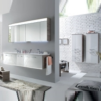 Pelipal Solitaire 7025 Мебель для ванной 173 см, Сан-Ремо/бел гл
