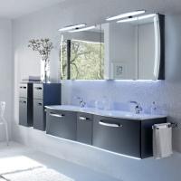 Pelipal Solitaire 7025 Мебель для ванной 173 см, стальной серый