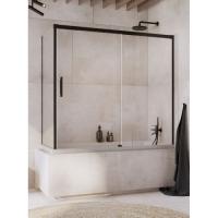 Radaway Idea Black PN DWJ+S Шторка для ванны 140/150/160/170/180