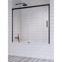 Radaway Idea Black PN DWJ Шторка для ванны 140/150/160/170/180