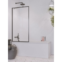 Radaway Idea Black PNJ Frame Шторка для ванны 50/60/70/80/90/100