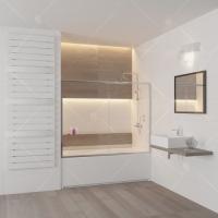 RGW Screens SC-62 Шторка для ванны 150x150
