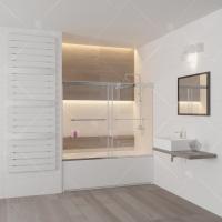 RGW Screens SC-66 Шторка для ванны 150x150
