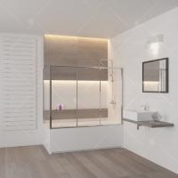 RGW Screens SC-81 Шторка для ванны 150/160/170/180 см
