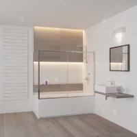 RGW Screens SC-82 Шторка для ванны 150/160/170/180 см