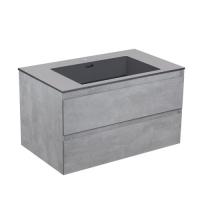 Vincea Luka LC600 Тумба под раковину 60 см Cement
