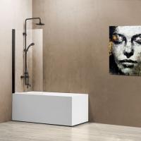 Vincea VSB-11800CLB Шторка для ванны 80x140