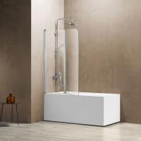 Vincea VSB-12114CL Шторка для ванны 114x140