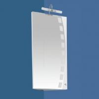 Aquanet Мальта Зеркальный шкаф угловой 35 см