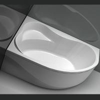 Aquanet Capri Ванна акриловая асимметричная 160x100 R/L