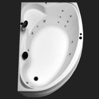Aquanet Jamaica Ванна гидромассажная 160x100 R/L
