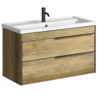 Aqwella 5 звезд Fargo FRG0110DB Мебель для ванной 100 см, дуб ба