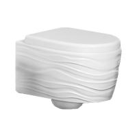 Ceramica Ala Wave WAVWCWH Унитаз подвесной