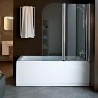 Kolpa San Sole TP 112 Шторка для ванны 112х140 см