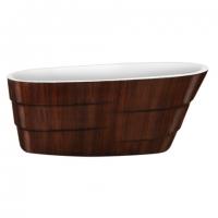 Lagard Auguste Brown wood Ванна акриловая 170x75