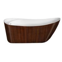 Lagard Minotti Brown wood Ванна акриловая 170x76
