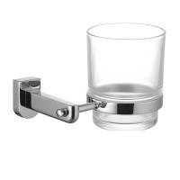 Lemark Omega LM3136C Стакан для зубных щеток стеклянный, прозрач