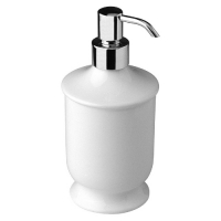 Nicolazzi Classica 6006CR Дозатор для мыла настольный, белый