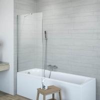 Radaway Classic PN Шторка на ванну 80 см