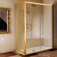 Samo Via Condotti Боковая стенка 90 см хром/золото